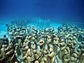 Первый в мире музей под водой появился вблизи Канарских островов