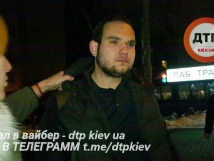 Нетрезвый шофёр разбил 4 авто вцентре украинской столицы