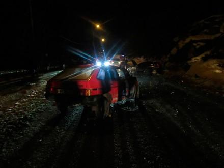 Врезультате дорожно-траспортного происшествия наПрикарпатье пострадали семь человек