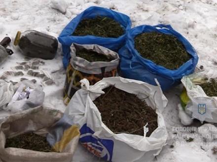 Наркотиков на миллион грн изъяли в Кривом Роге