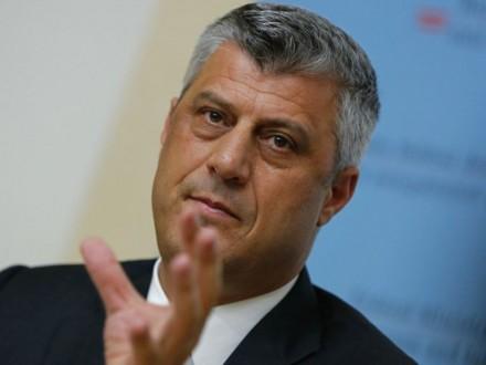 Российская Федерация помогает Сербии подготовить раздел Косово— Хашим Тачи