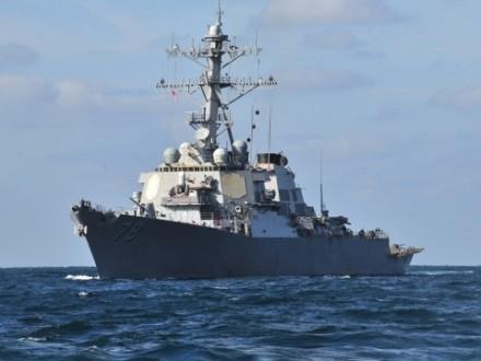 Есмінець США Porter увійшов в акваторію Чорного моря