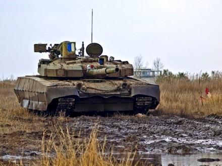 Украинские войска не используют танки в боевых действиях в зоне АТО - штаб