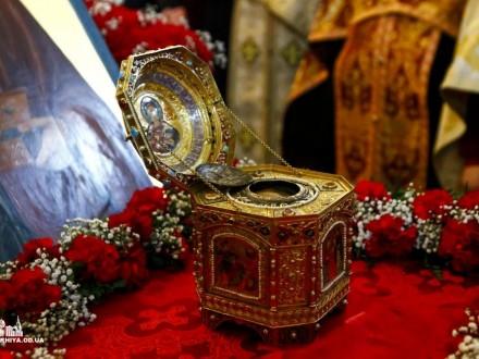 ВОдессу прибыли мощи святого Пантелеимона