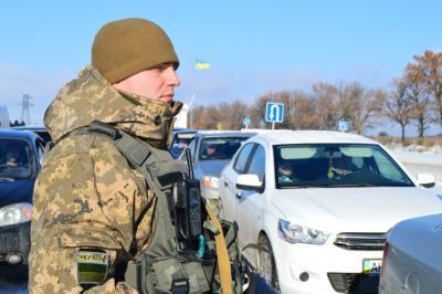 Боевики обстреляли КПВВ «Марьинка», никто непострадал