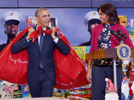 NYPost: Обама впоследний год президентства принял подарков на $30 тыс.