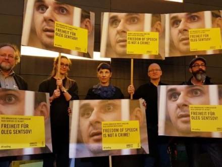 Украинский посол побывал напремьере фильма оСенцове наБерлинале
