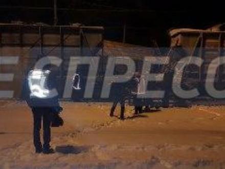 ВСоломенском районе украинской столицы столкнулись два грузовых состава