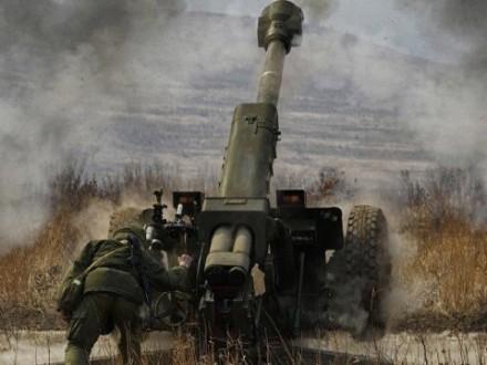 Російські окупаційні війська з артилерії обстріляли Трудівське