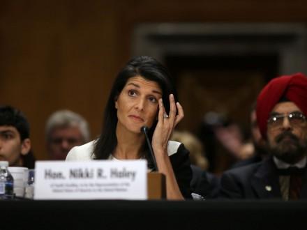 США не покращуватимуть відносини з РФ за рахунок безпеки України - Н.Хейлі
