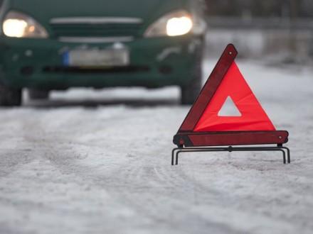 Пассажирский микроавтобус разбился натрассе «Львов— Краковец», пятеро пострадавших