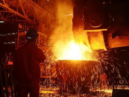 Україна збільшила виробництво сталі на 8,5%