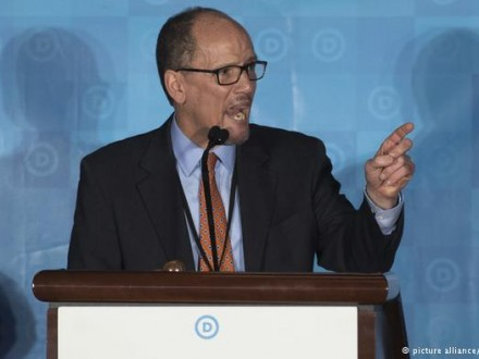 Головою Демократичної партії США обрали Тома Переса
