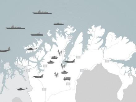 Норвегия проводит масштабные учения рядом с русской границей