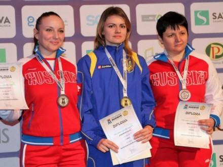 Українці завоювали повний комплект нагород на ЧЄ зі стрільби