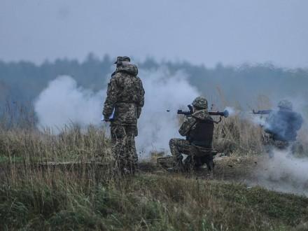 Боевики 52 раза обстреляли позиции сил АТО надонецком направлении