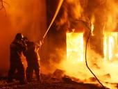 Взрывы на складе боеприпасов в Харьковской области - видео из соцсетей
