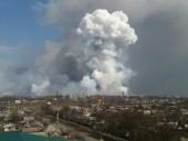 Около 50% склада боеприпасов в Балаклее уже уничтожено - В.Гройсман