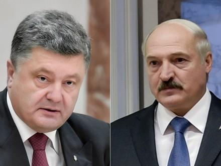 Порошенко иЛукашенко обсудили состояние украинско-белорусских отношений