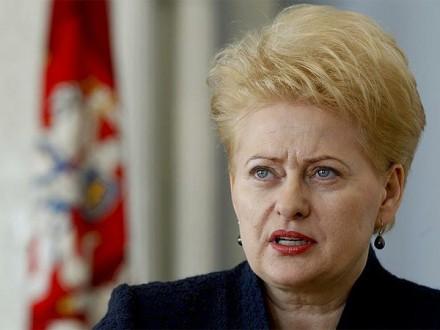 «Зеленые человечки непройдут»— Президент Литвы сообщила