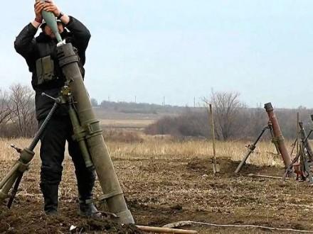 Штаб АТО: Ополченцы обстреляли позиции силовиков 69 раз