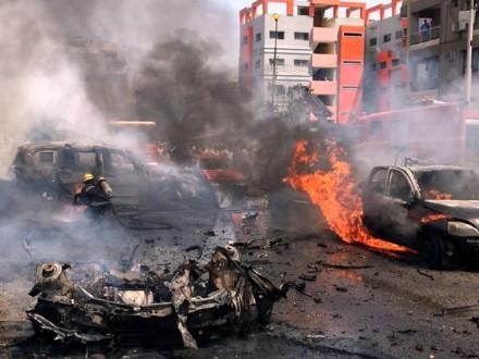 ВЕгипте около здания милиции произошел взрыв, есть пострадавшие