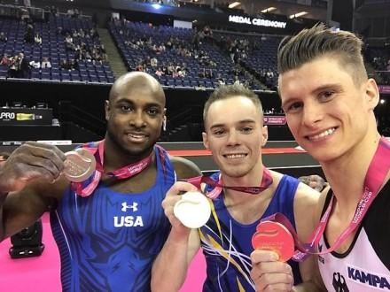 Верняєв став переможцем сезону Кубка світу зі спортивної гімнастики