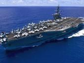 Авианосное группировки США отправилось в Корею