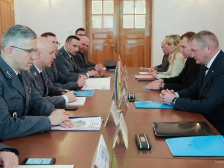 Польська поліція допоможе в розбудові Нацполіції України
