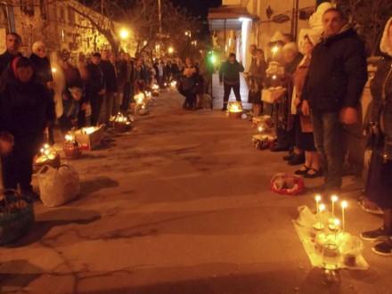 УСевастополі навеликодній службі читали Євангеліє українською