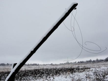 У Запоріжжі повалено майже 400 дерев та знеструмлено 13 тисяч будинків