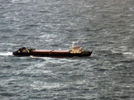 УМЗС підтверджують інформацію про дев'ятьох українців наборту затонулого суховантажу