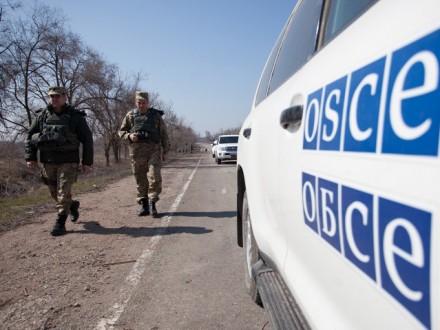 Вчора всі патрулі місії ОБСЄ були відкликані з Донбасу – А.Хуг