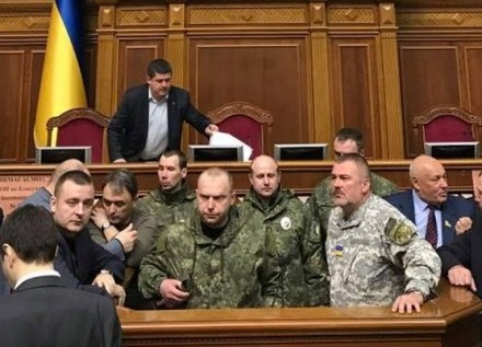 СБУ: полковника, який 15 березня виступав із трибуни ВР, перевіряють на причетність до НЗФ