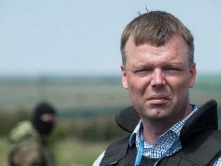day.kyiv.ua Підрив авто місії ОБСЄ на Донбасі не був нещасним випадком -  А.Хуг 6128a4a9fb350