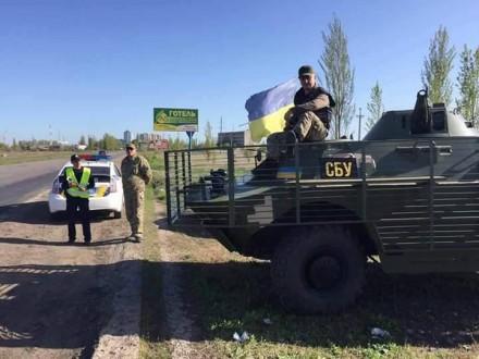 НаНиколаевщине установлены блокпосты вканун майских праздников— Воизбежание терактов