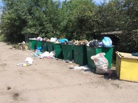 Станом насьогодні сміття невивезено з433 сміттєвих майданчиків