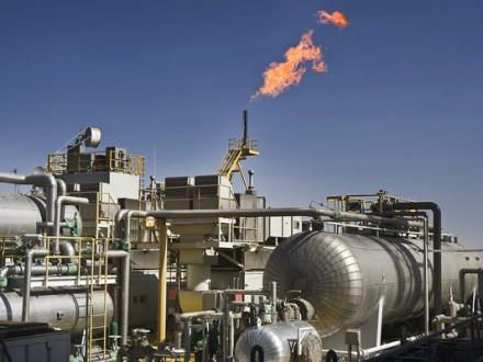 Видобуток газу в Україні за чотири місяці зріс на 1,5%
