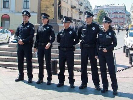 Чотирьох осіб затримали за використання забороненої символіки в Одесі
