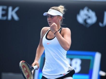 14-річна українка Костюк уперше вийшла в фінал дорослого турніру зтенісу