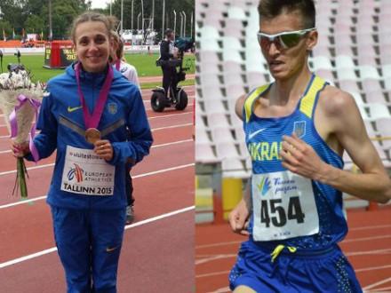 В.Калюжну та М.Нижника визнано найкращими легкоатлетами місяця в Україні