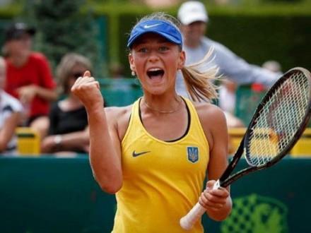 14-річна українська тенісистка вперше зіграє вдорослому фіналі