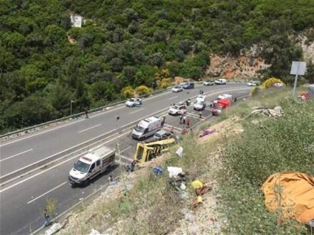 Ваварії туристичного автобуса уТуреччині загинули 20 людей
