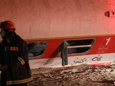 УГреції пасажирський поїзд зійшов зрейок, є постраждалі