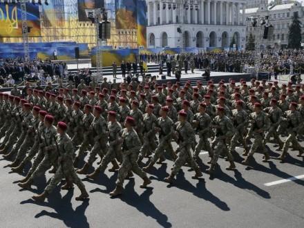 Президент доручив провести військовий парад наДень Незалежності