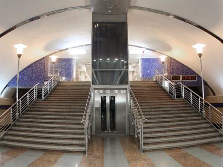 Станцію метро «Бориспільська» уКиєві перевіряють через повідомлення про замінування