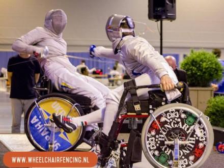 Паралімпійці з України здобули 11 медалей на етапі Кубка світу з фехтування