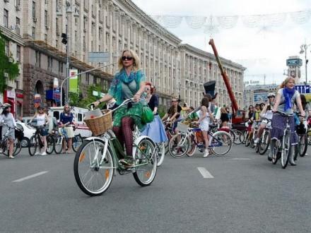 УКиєві 20 травня обмежать рух замаршрутом велопараду