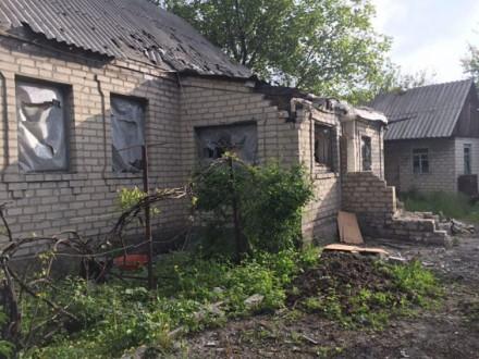 Бойовики обстріляли Авдіївку, один зі снарядів упав удвір приватного будинку