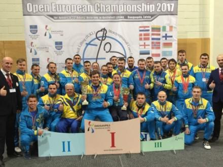 Українські спортсмени завоювали низку медалей на ЧЄ з гирьового спорту